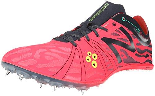 New Balance Men's MMD800V3 Middle Distance Running Shoe,Red/Navy,8 D US