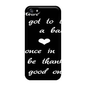 Fashion Tpu Case For Iphone 5/5s- Good Man Defender Case Cover