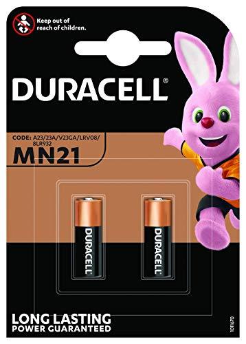 Duracell MN21 Alkaline Batteries  Pack of 2
