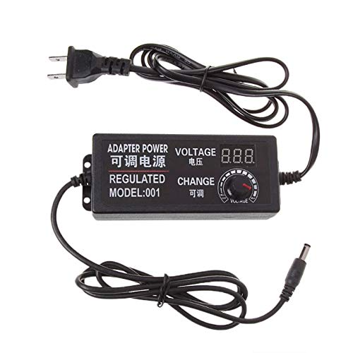 AC/DC Adapters - 9 24v 72w Adjustable Ac Dc Regulated Switch Power Supply Adapter With Display - Class Cv35 Adapters Connector Laptops Ac/dc Adapters Adaptor Adjust Power Supply Adapter Pola