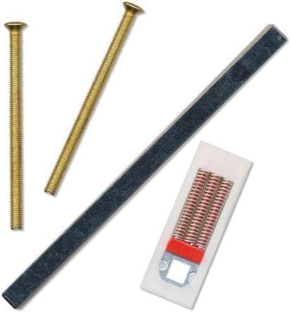 Juego de manivelas con muelle de 92 PZ//92 mm para puertas de PVC y PVC-U Hoppe Birmingham 2 unidades, anchura de la manivela 122 mm