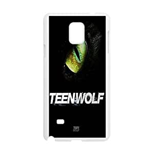 YUAHS(TM) Cover Case for Samsung Galaxy Note 4 with Teen Wolf YAS917210