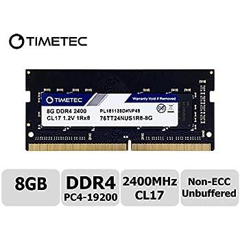 Kingston Technology ValueRAM 8GB 2400Mhz DDR4 Non-ECC CL17