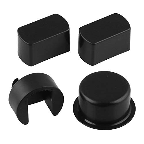D DOLITY 4 Pack Car Tailgate Hinge Pivot Bushing Insert Kit for Dodge Ram F Series