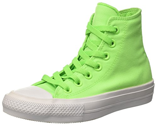 Converse Chuck Taylor All Star Ii Hi, Zapatillas de Gimnasia Unisex Adulto  GREEN GECKO/NAVY/WHITE