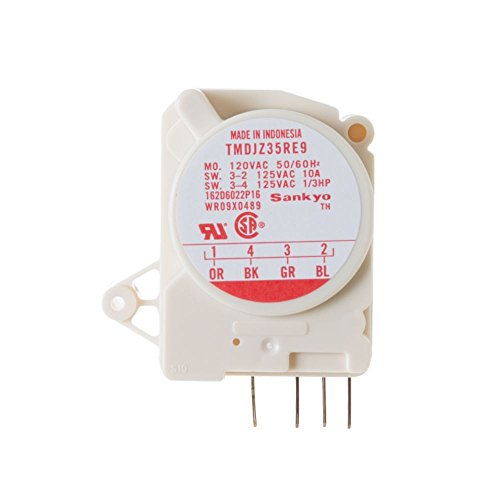 GE WR9X489 Refrigerator Defrost Control Timer (Refrigerator Ge Control Defrost)