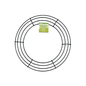 "FloraCraft RS9773 Wire Wreath 12""-Green 76"