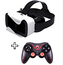 Game Controller Wireless Bluetooth Phone Gamepad Joystick for Android Phone/Pad/Android Tablet PC TV BOX+Virtual Reality Headset