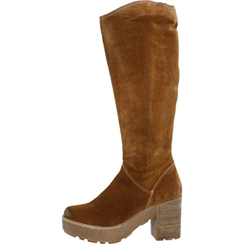 Womens 9 Colour Boots 6025H Hangar Hangar Womens Brand Boots Model Hangar Brown Brown SZwq1