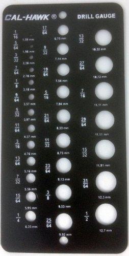 Drill Size Chart AmazonCom