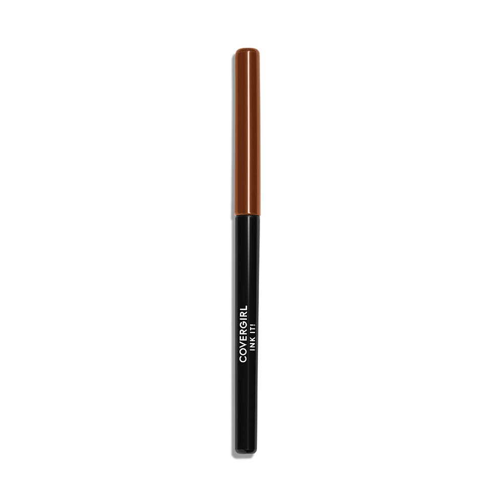 COVERGIRL Ink It! Perfect Point Plus Waterproof Eyeliner, Cocoa Ink 260 (1 Count) (Packaging May Vary) Self Sharpening Long Lasting Waterproof Eyeliner Pencil