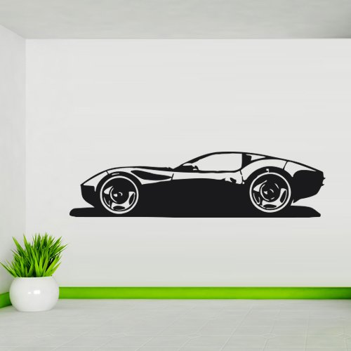 Drive Mural (Wall Decal Car Race Sports Bolide Driving Fast Drive room M140)