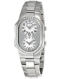 Philip Stein Women's Signature Stainless Steel Diamond Watch 1d-b-fw-ss