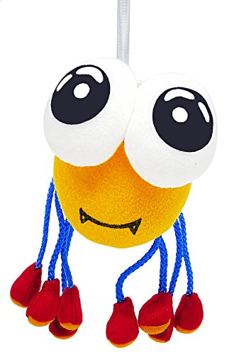 Funny Baby Spider Bouncing Up 'n Down Hanging Plush Doll Toy (Robin Outfit For Babies)