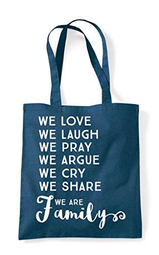 List Family We Bag Statement Love Are Tote Shopper Petrol 5qtwUBtxAr
