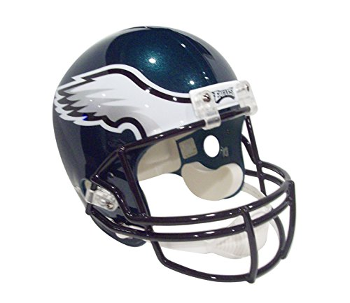 NFL Philadelphia Eagles Deluxe Replica Football Helmet Full Size - (New Version) by Riddell