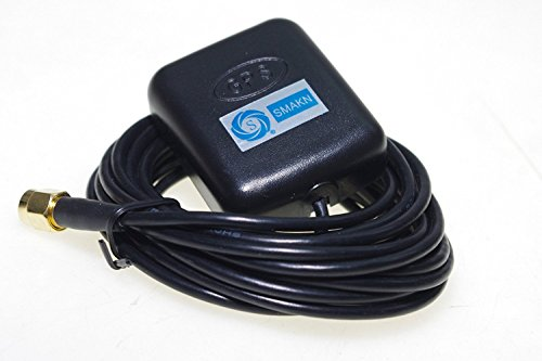 SMAKN 28dB LNA Gain 1575.42MHz SMA GPS Active Antenna Aerial Connector ()