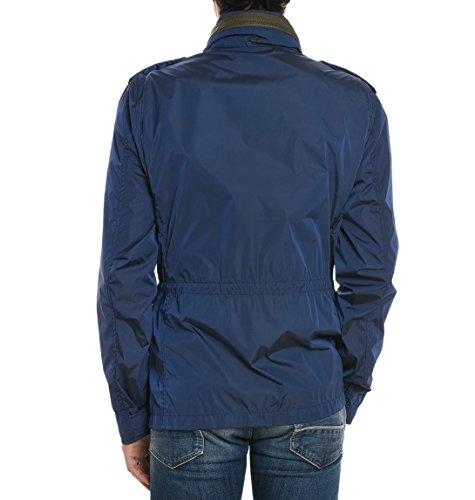 Fay Herren NAM06320340MBVU607 Blau Polyamid Jacke