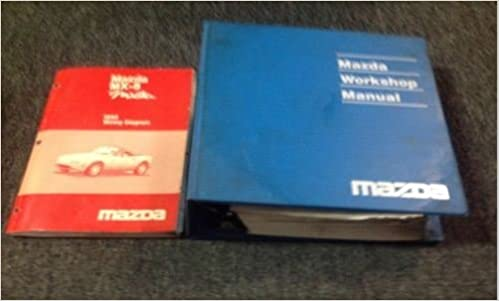 1995 mazda miata mx5 mx 5 service repair shop workshop manual set w 1995 mazda miata mx5 mx 5 service repair shop workshop manual set w ewd oem mazda amazon com books