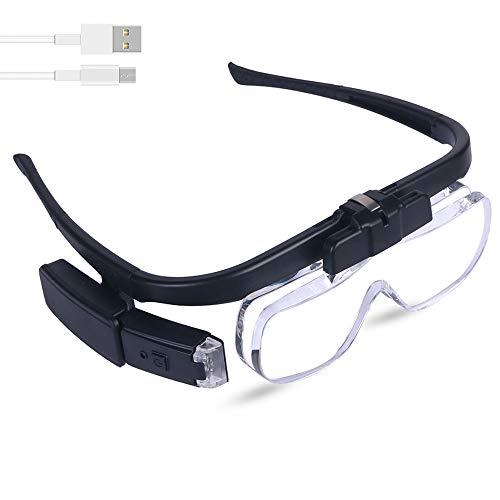 Head Mount Magnifier Glasses