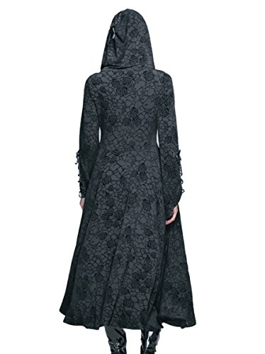 large Noir Devil Femme Fashion Xx Manteau YxnwqOI1
