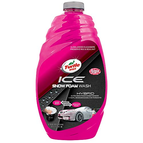 Turtle Wax 50990 ICE Snow Foam Car Wash-48 oz, 48. Fluid_Ounces (The Best Snow Foam)