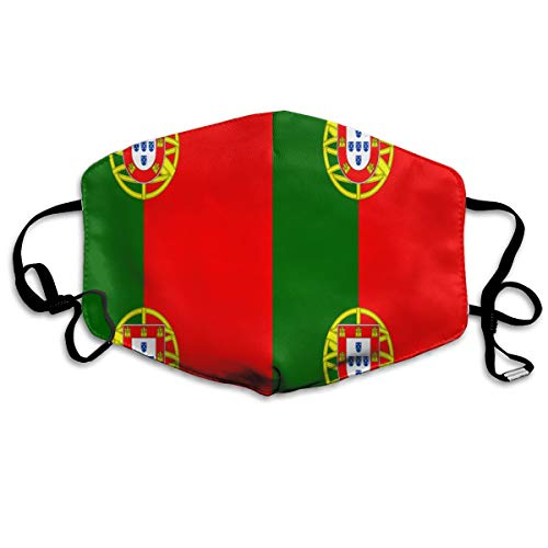 (Flag Of Portugal Face Mask, Filters Dust Dust Mask For Gardening)