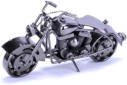 オートバイモデルの衣料品店の装飾創造的な宝石飾りホームクラフト、ギフト (Color : Bronze, Size : 26*8*14cm)
