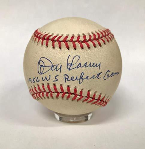 (Signed Don Larsen Ball - Inscribed - JSA Certified - Autographed Baseballs)