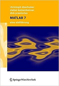 Book Matlab 7: Eine Einführung: Eine Einfuhrung