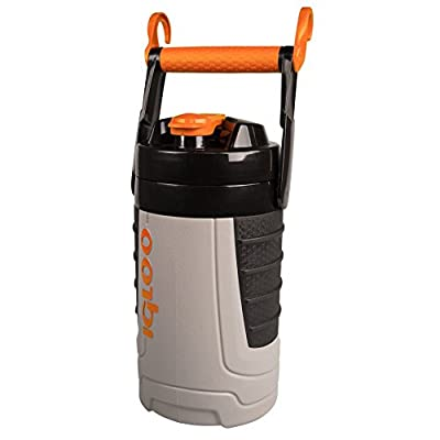 Igloo Proformance 1/2 gallon Sport Jug-Ash Gray/Tough Orange, Gray