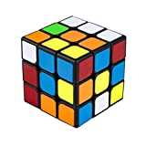 Speed Cube, Buself 3x3x3 Sticker Speed Cube Smooth Magic Cube Puzzle,Turns Quicker