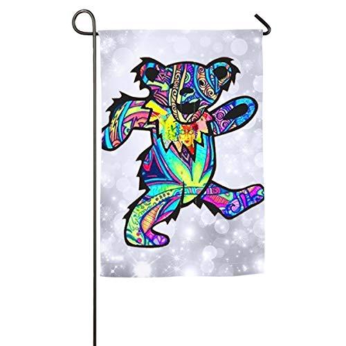 (Lucy Skinner Grateful Dead Dancing Bear Match Flag 12