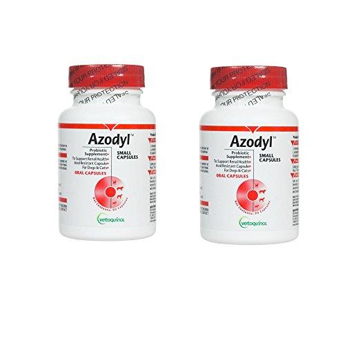 Azodyl 2PACK (180 Small Capsules) By Vetoquinol by Vetoquinol
