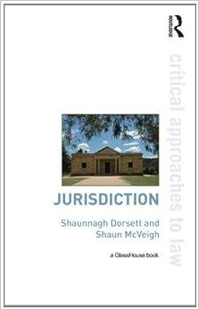Book Jurisdiction (Critical Approaches to Law) by Shaunnagh Dorsett (2012-07-27)