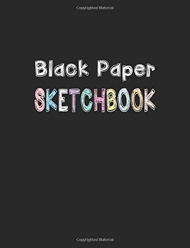 Black Paper Sketchbook Notebook Midnight product image