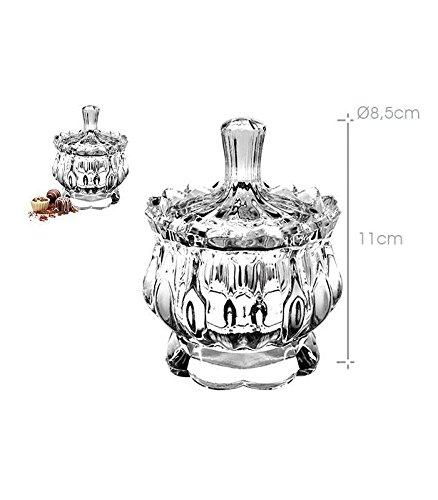 Varia–Bombonera de cristal–11cm) AVENUELAFAYETTE