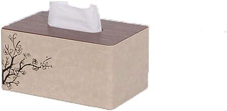 Caja De Pañuelos Marmoleado Servilletero De Cuero para Kleenex ...