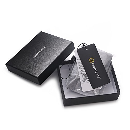 Amazon.com : Teemzone Genuine Leather Business Credit Id Card Case (K308) : Office Products
