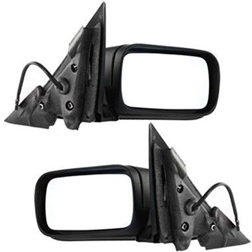 (Koolzap For 99-06 BMW 3-Series Power Non-Heat Fold Rear View Mirror Left Right Side PAIR SET )