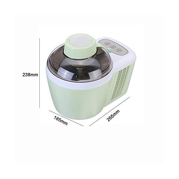 LWQ 700ml Domestica Completa Morbida Automatico Disco creatore di Gelato Macchina, Intelligente Sorbetto alla Frutta… 5 spesavip
