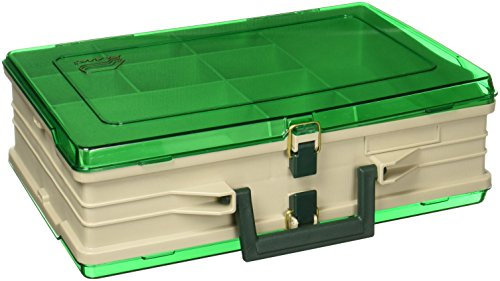 1119 Plano Magnum Tackle Box Double Side Sandstone/Green (Plano Terminal)