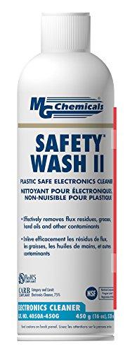 Aerosol Chemical (MG Chemicals Safety Wash II Electronics Cleaner, 450g Aerosol Can)