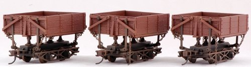 On30 Spectrum Wood Side Dump Car (3) by Bachmann Industries (English Manual)