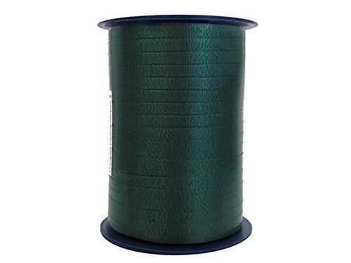 - CRIMPED CURLING RIBBON Hunter Green 3/16 500 YDS Roll