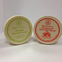 Taylor of Old Bond Street Shave Cream -- 2 Pack 5.3 0z Each Choose Your Scents! (Grapefruit and Avocado)
