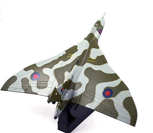 Vulcan Bomber - FLOZ UK Royal Air Force Avro Vulcan Bomber Aircraft 1:144 Die Cast Plane Pre-Assembled Ariplane Model Vehicle