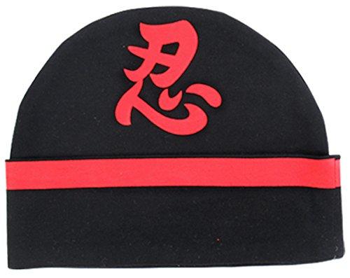 Mombebe Baby Boys' Ninja Hats (Ninja, 12-24 (One Charming Party Halloween Games)