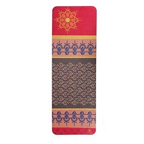 White sheep Tapis de yoga délicieux de tapis de yoga de Pu 5mm de tapis de yoga respectueux de l'environnement pour la famille de gymnase