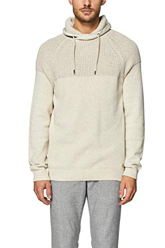 Blanc off White 110 Esprit Homme Pull ExqtIgBH